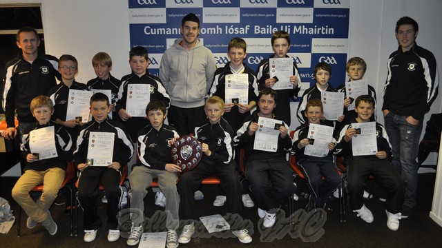 Ballymartins U-12 Squad with Brendan McVeigh