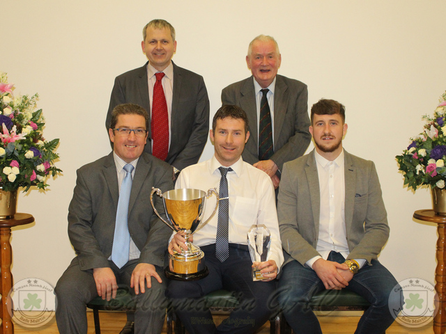 2015 Club of the Year Award - and Kieran OHare Runner Up Player of Year