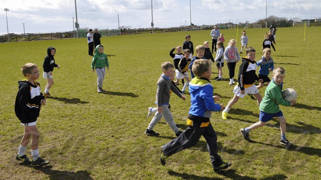 Ballymartin GAC U-6-8-10 Training April 11 2015