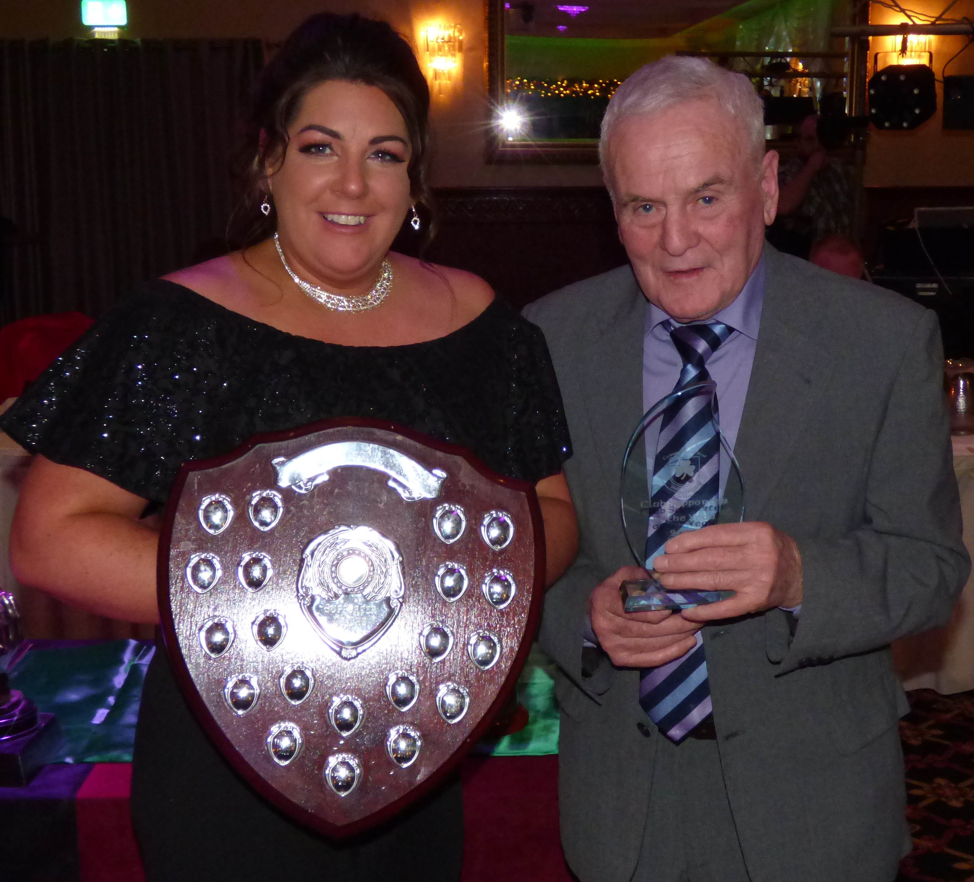 club-support-of-year Charlene Rooney