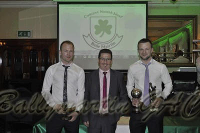 Ballymartin GAC Senior Runner-Up Player of the Year: Captain James Doran