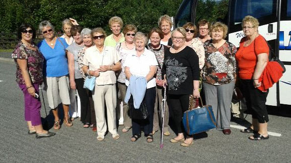 Ballymartin Community Group road trip 2 Slieve Gullion