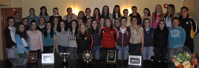 U-14 & U-16 Ladies Presentation nite 16 Oct 2013